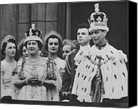British Royalty Canvas Prints - British Royalty. Front Row British Canvas Print by Everett