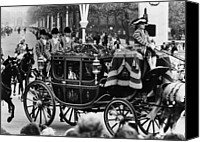 British Royalty Canvas Prints - British Royalty. In Carriage, From Left Canvas Print by Everett