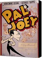 Joey Canvas Prints - Broadway: Pal Joey, 1940 Canvas Print by Granger