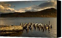 Docks Photo Canvas Prints - Broken Dock, Loch Sunart, Scotland Canvas Print by John Short