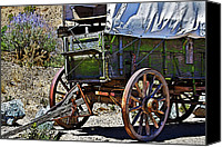 Travel Photo Special Promotions - Broken Down Canvas Print by Phyllis Denton