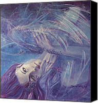 Love Canvas Prints - Broken wings Canvas Print by Dorina  Costras