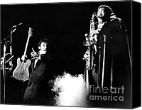 Springsteen Canvas Prints - Bruce Springsteen - Halloween on E Street 1980 Canvas Print by Chris Walter