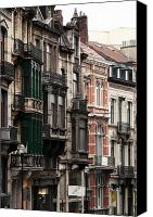 Brussels Canvas Prints - Brussels Architecture Canvas Print by John Rizzuto
