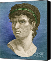Brutus Canvas Prints - Brutus, Roman Politician Canvas Print by Photo Researchers