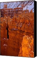 Inspiration Point Canvas Prints - Bryce Amphitheater Canvas Print by Viktor Savchenko