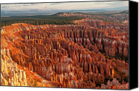 Mountain Scene Canvas Prints - Bryce Canyon Canvas Print by Phil