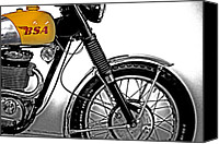 Bsa Canvas Prints - BSA Classic Canvas Print by Gallery Three