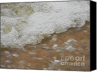 Floods Canvas Prints - Bubble Rush Canvas Print by Kimberly Dawn Hendley