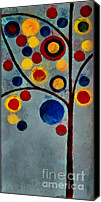 "\\\\\\\""aimelle \\\\\\\\\\\\\\\"" Canvas Prints - Bubble Tree - dps02c02f - Left Canvas Print by Variance Collections"