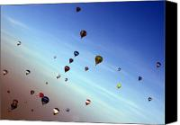Balloon Fiesta Canvas Prints - Bubbles Canvas Print by Angel  Tarantella