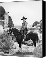 Publicity Shot Canvas Prints - Buck Jones, Ca Early 1930s Canvas Print by Everett