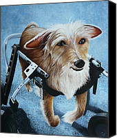 Hope Painting Canvas Prints - Buddys Hope Canvas Print by Vic Ritchey