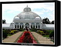 Father Christmas Canvas Prints - Buffalo and Erie County Botanical Gardens Canvas Print by Rose Santuci-Sofranko