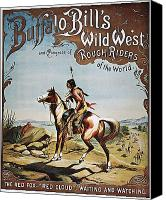 Buffalo Bill's Wild West Show Canvas Prints and Buffalo Bill's Wild ...