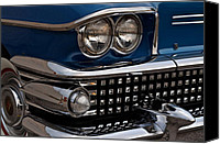 Blue Buick Canvas Prints - Buick Classic Canvas Print by Robert Harmon