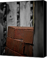 Selective Color Canvas Prints - Building Blocks Canvas Print by Odd Jeppesen