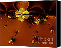 Bumblebees Canvas Prints - Bumble Beez Over Chocolate Lake . S19 Canvas Print by Wingsdomain Art and Photography