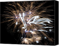 July 4th Canvas Prints - Bursting in air two Canvas Print by John  Greaves