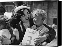 Consoling Canvas Prints - Butlins Fun Canvas Print by Bert Hardy