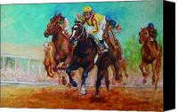 Filly Canvas Prints - Bye Bye Boys Canvas Print by Leisa Temple