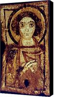 Byzantine Photo Canvas Prints - Byzantine Icon Canvas Print by Granger