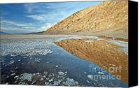 Death Valley National Park Canvas Prints - CA0002 Badwater Basin Canvas Print by Steve Sturgill