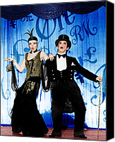 Nightclub Canvas Prints - Cabaret, From Left Liza Minnelli, Joel Canvas Print by Everett
