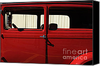 Ford Sedan Canvas Prints - Cabin Pressure Canvas Print by Luke Moore