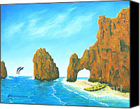 Jerome Stumphauzer Canvas Prints - Cabo san Lucas Mexico Canvas Print by Jerome Stumphauzer