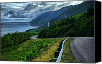 Breton Canvas Prints - Cabot Trail Canvas Print by Joe  Ng