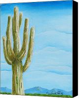 Joseph Palotas Canvas Prints - Cactus Jack Canvas Print by Joseph Palotas