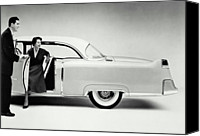 Woman At The Well Canvas Prints - Cadillac, 1954 Canvas Print by Archive Holdings Inc.