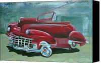 Gary Peterson Canvas Prints - Cadillac 47 Canvas Print by Gary Peterson