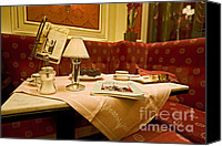 Torte Canvas Prints - Cafe Sacher - Vienna Canvas Print by Madeline Ellis