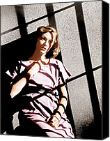 1950 Movies Photo Canvas Prints - Caged, Eleanor Parker, 1950 Canvas Print by Everett