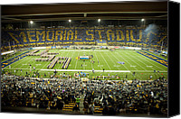2012 Canvas Prints - Cal Memorial Stadium on Game Day Canvas Print by Replay Photos