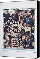 Dial Photo Canvas Prints - Call Me Canvas Print by Garry Gay