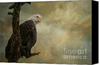 Photomanipulation Photo Canvas Prints - Call of Honor Canvas Print by Reflective Moments  Photography and Digital Art Images