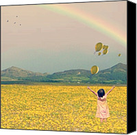 Teg Canvas Prints - Calm Canvas Print by Casi Wonderland
