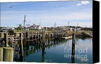 Cape Cod Scenery Canvas Prints - Calm Waters Canvas Print by Extrospection Art