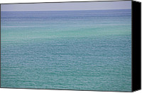 Panama City Beach Photo Canvas Prints - Calm Waters Canvas Print by Toni Hopper