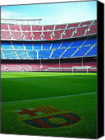 Final Canvas Prints - Camp Nou - Barcelona Canvas Print by Juergen Weiss