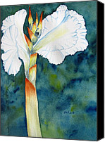 Carlin Blahnik Painting Canvas Prints - Canna Canvas Print by Carlin Blahnik