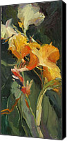 Canna Canvas Prints - Canna Canvas Print by Elizabeth Taft