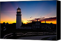 Cape Cod Scenery Canvas Prints - Cape Cod Light Canvas Print by Bill  Wakeley