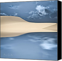 Sand Canvas Prints - Cape Cod Reflections Canvas Print by Bob Orsillo