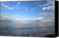 Nauset Beach Canvas Prints - Cape Cod Summer Sky Canvas Print by Juergen Roth