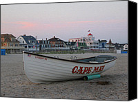 May Canvas Prints - Cape May Remembered Canvas Print by Gordon Beck