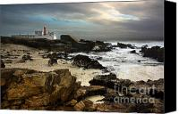 Light House Canvas Prints - Cape Raso Canvas Print by Carlos Caetano